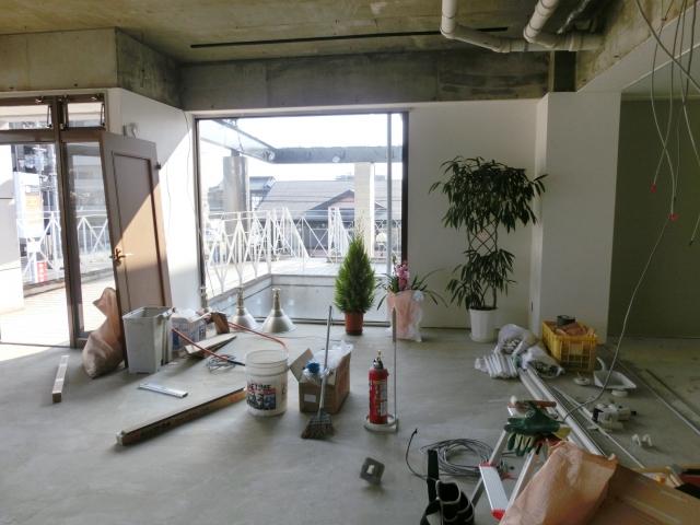 開業前の工事